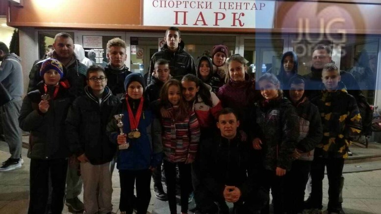 PK Leskovac u Kragujevcu osvojio 18 medalja