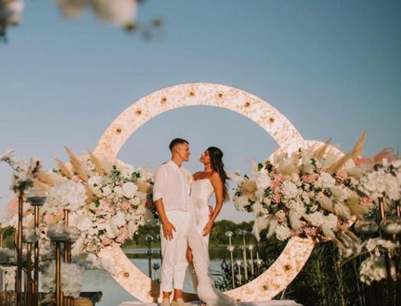 PLAČEM SVAKI PUT KADA OVO VIDIM: Nedovići ušli u brak kao u BAJCI! O svadbi srpskog košarkaša danima se priča (VIDEO)