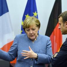 PLAŠI IH ESKALACIJA SUKOBA! Merkel i Makron zvali Putina zbog Idliba
