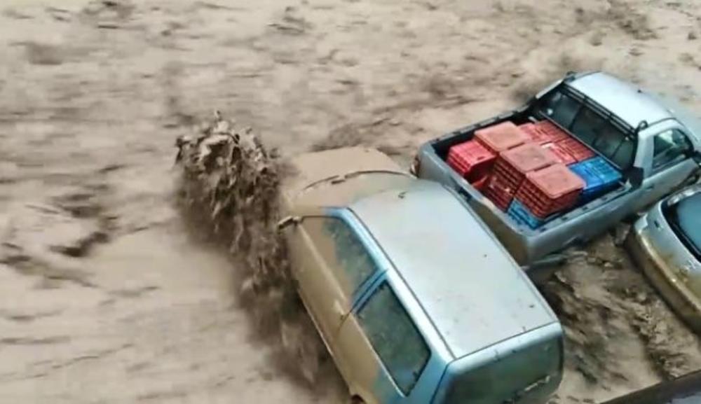 PLAŽE U GRČKOJ KAO DA SU BOMBARDOVANE: Na Tasosu vanredno stanje, obustavljena plovidba! Jake oluje tek stižu!
