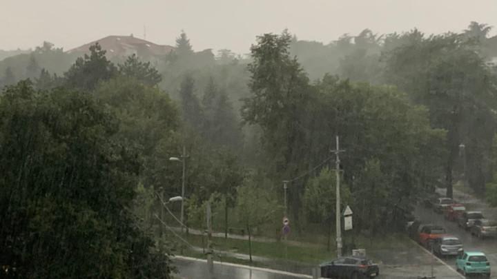 PLJUSAK U BEOGRADU!Meteorolozi najavljuju NEVREME u pojedinim delovima grada