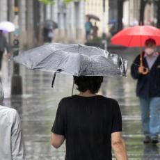 PLJUSKOVI I GRMLJAVINA STIŽU U SRBIJU: Narednih sedam dana vreme sivo ali temperature će nas iznenaditi