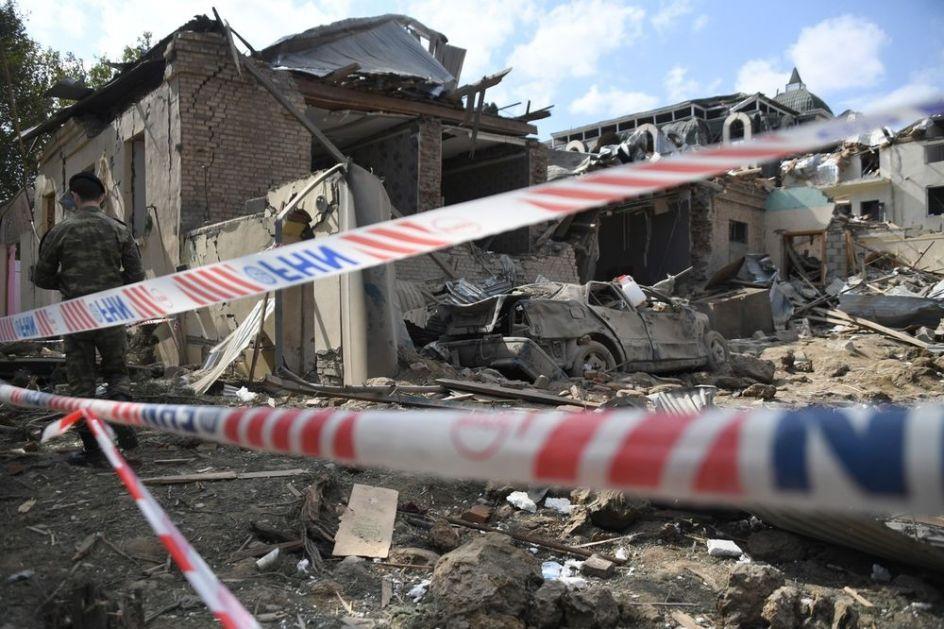 PLJUŠTE OPTUŽBE IZMEĐU JERMENIJE I AZERBEJDŽANA: Krši se prekid vatre u Nagorno-Karabahu, granatiraju se naseljena mesta (VIDEO)