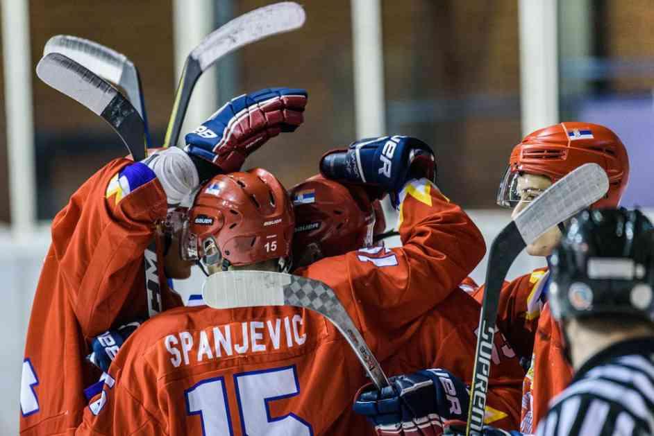 POBEDA NAŠIH JUNIORA: Srpski hokejaši savladali Belgiju