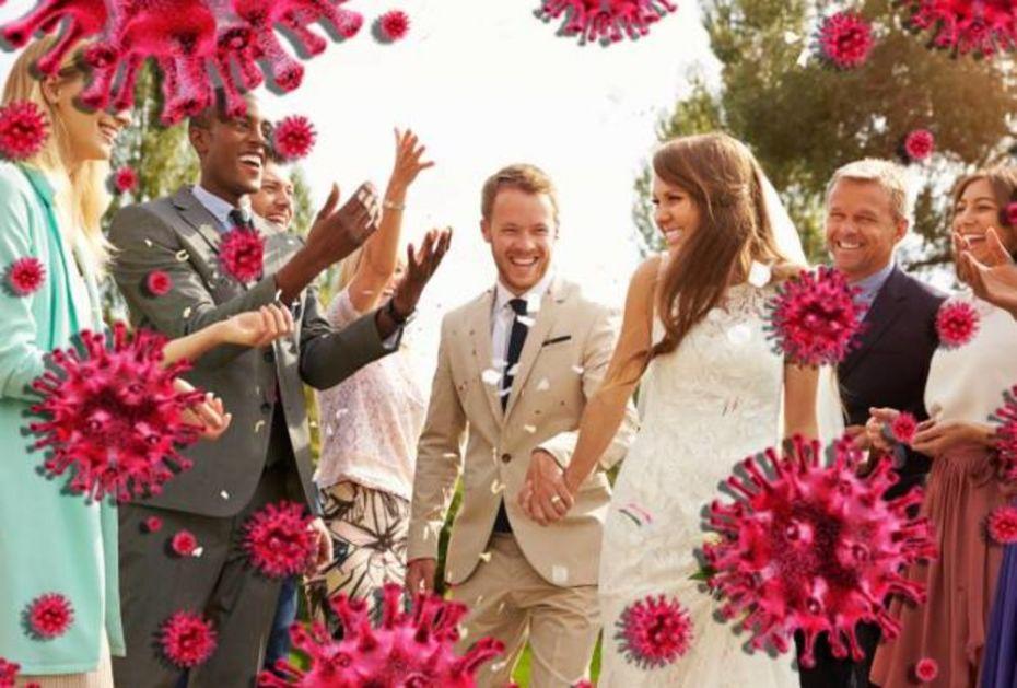 POBIĆEMO IH KAO MAČIĆE: U vreme korone pravili svadbu sa 100 zvanica, a sada im smeta pisanje medija!