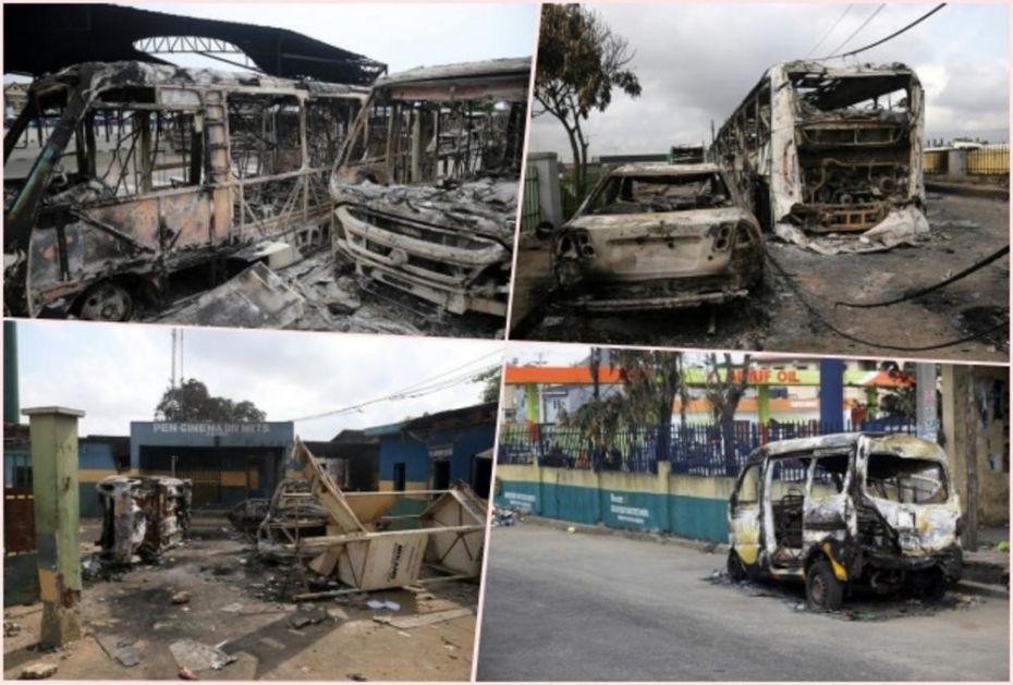 POBUNA GLADNIH U NIGERIIJI: U Lagosu i većim gradovima pljačkaju se skladišta hrane, vlast izgubila kontrolu! (FOTO, VIDEO)