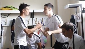 POČETAK SEZONE U HUMSKOJ: Prvi trening crno-belih!