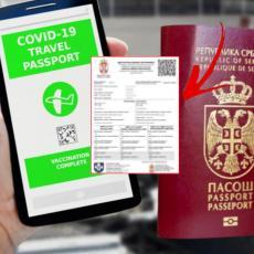 POGLEDAJTE KAKO IZGLEDA DIGITALNI KOVID SERTIFIKAT: Građani Srbije od danas mogu doći do svog korona pasoša (FOTO)