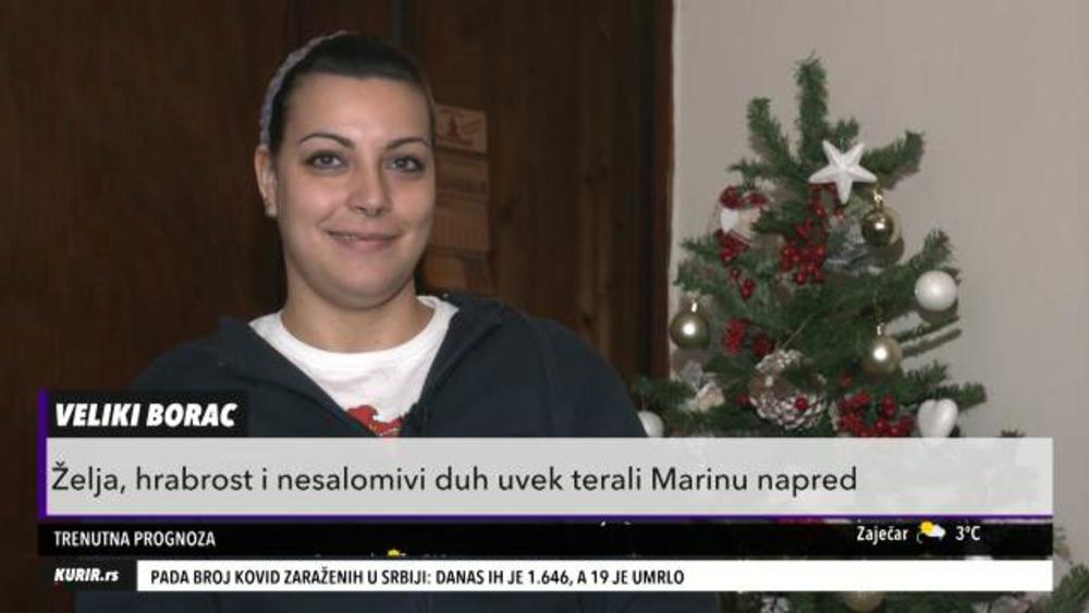 POGLEDAJTE KAKO JE NEMOGUĆE POSTALO MOGUĆE! Marina je upucana u cvećari, posle 3 godine borbe STALA NA NOGE! (KURIR TELEVIZIJA)