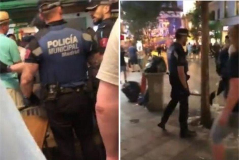 POGLEDAJTE SNIMAK BRUTALNE POLICIJSKE TORTURE! Uniformisani batinaši pendrečili navijače: Ušli su u restoran i BUM, BUM, BUM... (VIDEO)