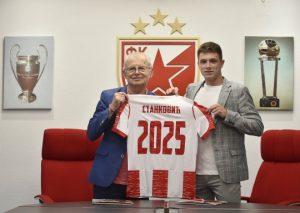 POJAČANJE ZA CRVENO-BELE: Stanković produžio ugovor do 2025. godine!
