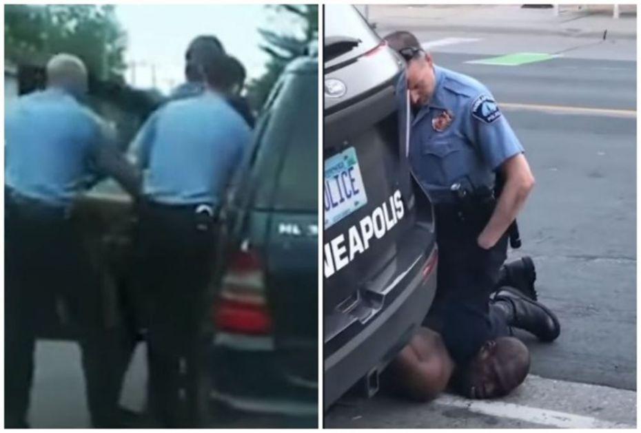 POJAVIO SE NOVI SNIMAK HAPŠENJA DŽORDŽA FLOJDA: Ubijeni Afroamerikanac govorio policajcima da on nije loš čovek
