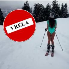 POKAZALA G*ZU NA MINUSU: Zorannah skija u KUPAĆEM! Zapalila INTERNET -  ugasili je KOMENTARIMA! (VIDEO)