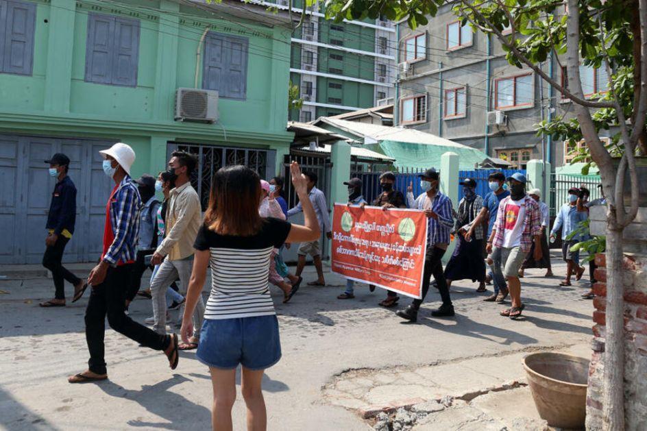 POKOLJ U MJANMARU: Hunta u jednom danu ubila 80 demonstranata u jangonu VIDEO