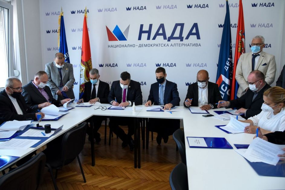 POKS i DSS formirali koaliciju NADA za buduće izbore