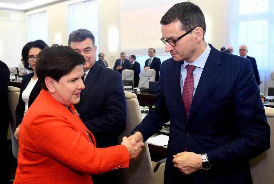POLJSKA PREMIJERKA PODNELA OSTAVKU: Zameniće je ministar finansija
