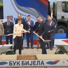 POLOŽEN KAMEN TEMELJAC ZA HE BUK BIJELA: Istorijski dan za Srbiju i Republiku Srpsku