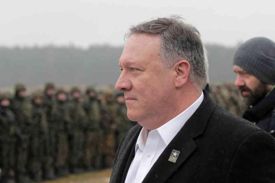 POMPEO SA AMERIČKIM VOJNICIMA U POLJSKOJ: Putin hoće da uništi NATO!