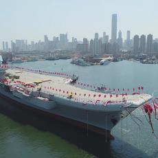 PONOS ratne mornarice: Kinezi testirali svoj prvi nosač aviona (FOTO)