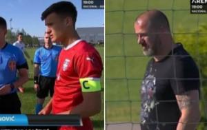 PONOSNI OTAC: Stankovićev sin postao kapiten 'Orlića' – Deki sa širokim osmehom kraj aut linije! (FOTO)