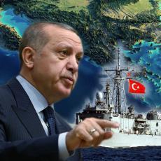 PONOVO GUSTO NA MEDITERANU: Erdogan nastavlja sa provokacijama, poslao brodove u sporne vode, oglasio se i Makron