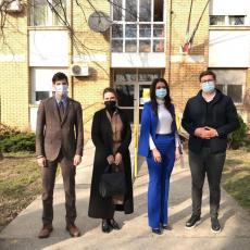 POPOVIĆ I PAJKIĆ OBIŠLI USTANOVE SOCIJALNE ZAŠTITE: Narodni poslanici donirali preko potrebne zaštitne maske