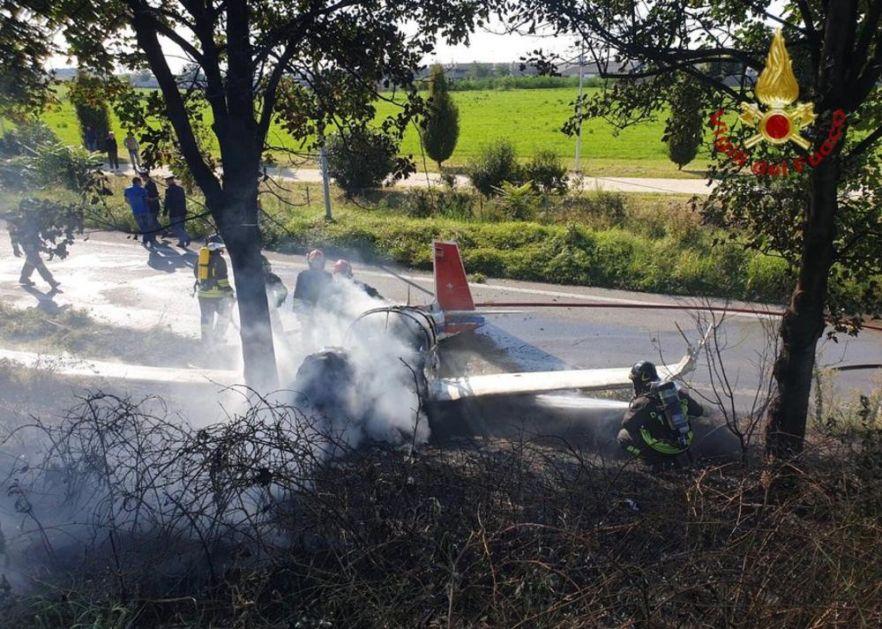 PORODIČNA TRAGEDIJA U ITALIJI: U cesni koja je pala kod Bergama bili otac i tri ćerke! Vlasti potvrdile jednog poginlog! (FOTO)