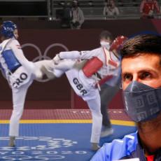 PORUKOM ODUŠEVILA SRBE Hrvatica uzela olimpijsko zlato u tekvondou i na slici s Novakom OVO postavila (FOTO)