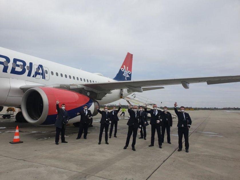POSEBAN LET: Avion Er Srbije sa 236 državljana Srbije poleteo iz Vašingtona!
