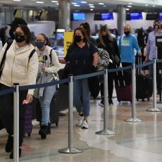 POSLE 18 MESECI UKINUTO OGRANIČENJE PUTOVANJA: Porodice i prijatelji presrećni na aerodromu