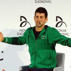 POSLE NAPADA SA SVIH STRANA: Evo gde se Novak sklonio od svega (FOTO)