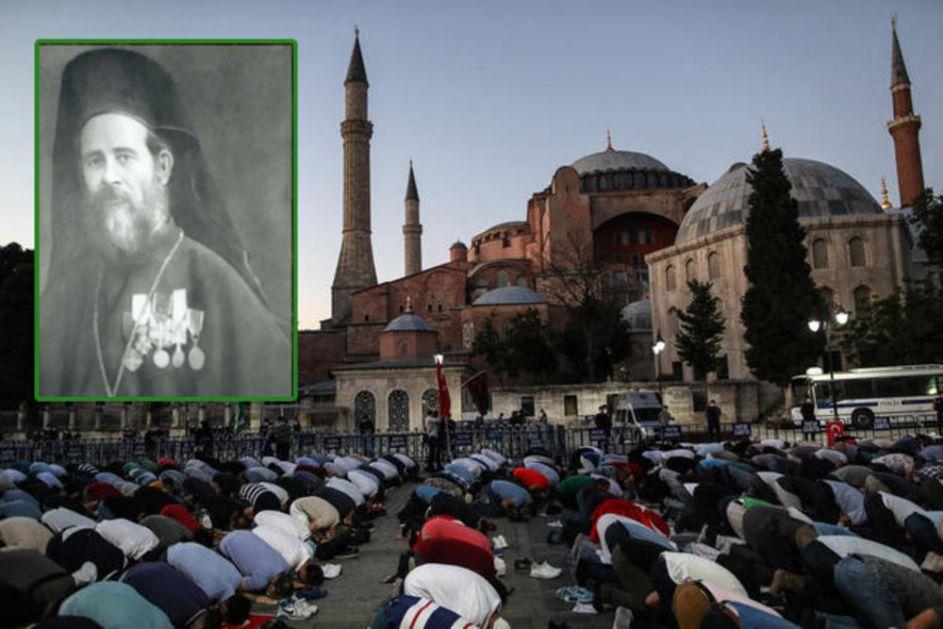 POSLEDNJA LITURGIJA U AJA SOFIJI JE BILA TAJNA Grčkog vojnog sveštenika 1919. godine nisu uplašili turski bajoneti VIDEO