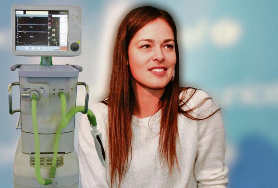 POTEZ TENISERKE VREDAN DIVLJENJA! HEROINA: Srbiji od Ane Ivanović 35 respiratora