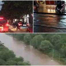 POTOP U BEOGRADU: Voda nosi automobile, ne rade semafori, Braće Jerković NIJE ULICA VEĆ REKA (VIDEO)