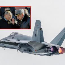POTPUNO NEOČEKIVANO! Nećete verovati čiji F-18 je pokušao da se približi avionu ministra Šojgua! (VIDEO)