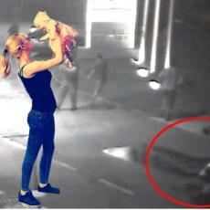POTRESNO! Pogledajte trenutak u kom gine devojčica iz Obrenovca - Motor pada i razbija se u komade (VIDEO)