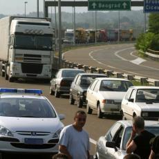 POVEĆAN BROJ VOZILA NA MILOŠU VELIKOM! Apel Puteva Srbije - NE KREĆITE na put ukoliko nije neophodno