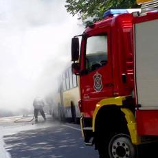 LOKALIZOVAN POŽAR U BEOGRADU: Goreo magacin kineske radnje, nema povređenih!