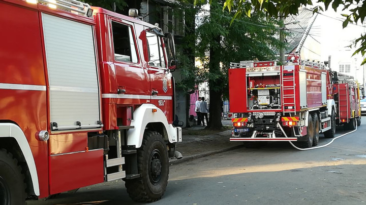 POŽAR U CENTRU BEOGRADA: Gori stambena zgrada