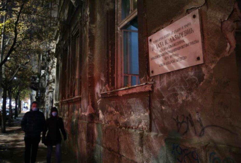 POŽAR U KUĆU LAZE LAZAREVIĆA U CENTRU BEOGRADA: Zgrada poznatog srpskog lekara i književnika već godinama ostavljena da propada!