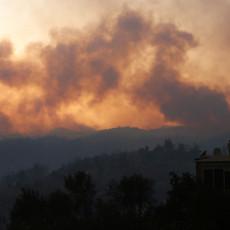 POŽAR U POPULARNOM ALBANSKOM LETOVALIŠTU: Vatra zahvatila nisko rastinje i šumu