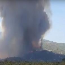 POŽARI ZAHVATILI I GRČKU: Vatrogasci pokušavaju da poprave stanje, ali vatra i dalje gori (VIDEO)
