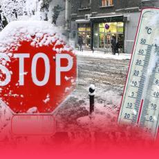 POZDRAV TOPLOM VREMENU - VRAĆAMO SE NAZAD U MINUS: Temperaturni obrt u Srbiji, sneg će ponovo okovati zemlju!