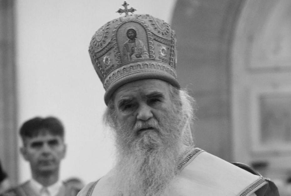POZDRAVI SVETOG SIMEONA I SVETOG SAVU: Prva zabeležena beseda mitropolita Amfilohija na sahrani Svetog ave Justina VIDEO