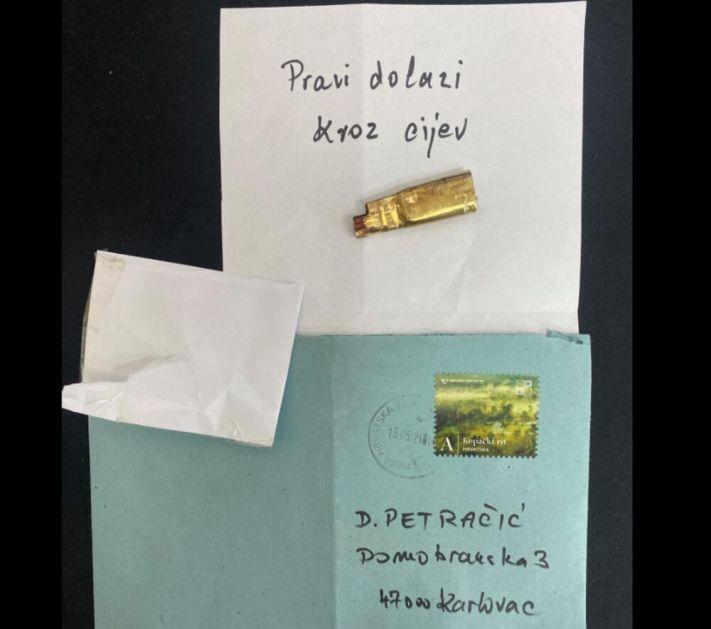 PRAVI DOLAZI KROZ CEV Hrvatski političar dobio metak u pismu i jezivu poruku upozorenja