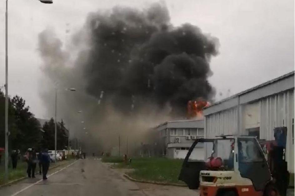 PRAVI HEROJI! INŽENJERI IZGORELI SPASAVAJUĆI KOLEGE: Prvi su upozorili na požar u fabrici ali nisu uspeli da se izvuku!