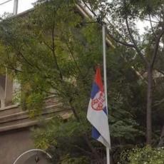 PRAVOSLAVNA SIRIJA TUGUJE ZA AMFILOHIJEM: Srpska zastava na polja koplja!