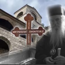 PREDOSETIO JE KRAJ Amfilohije tražio da se ispovedi po dolasku sa Kosova, bio je spreman za put