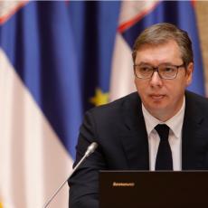 PREDSEDNIK SRBIJE OBRAĆA SE VEČERAS GRAĐANIMA IZ BRISELA: Vučić uoči nastavka dijaloga Beograda i Prištine