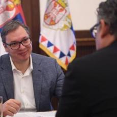 PREDSEDNIK SRBIJE SASTAO SE SA ČEŠKIM AMBASADOROM: Vučić i Kuhton na sastanku (FOTO)